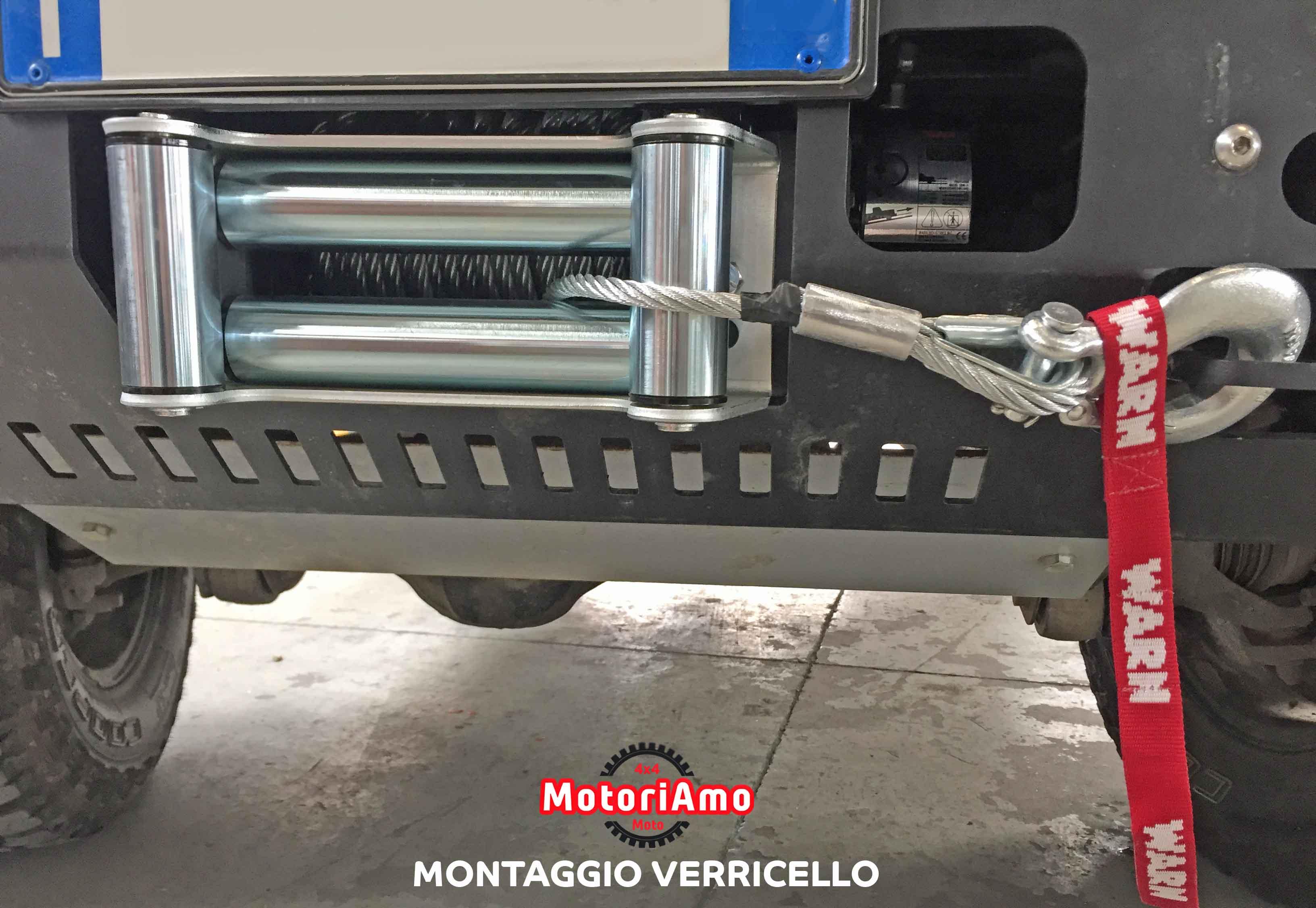 Montaggio Verricello MotoriAmo 4x4