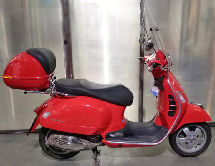 Usato Scooter MotoriAmo Vespa GTS 250 Rossa
