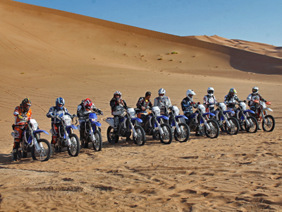 Tour Moto in Oman MotoriAmo On Tour drivEvent Adventure